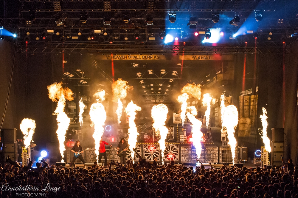 28.04.2018: Impericon-Festival in Leipzig (Messe) - Heaven Shall Burn