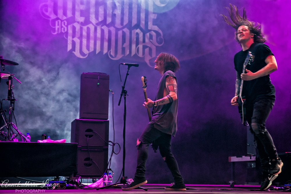 28.04.2018: Impericon-Festival in Leipzig (Messe) - We Came As Romans