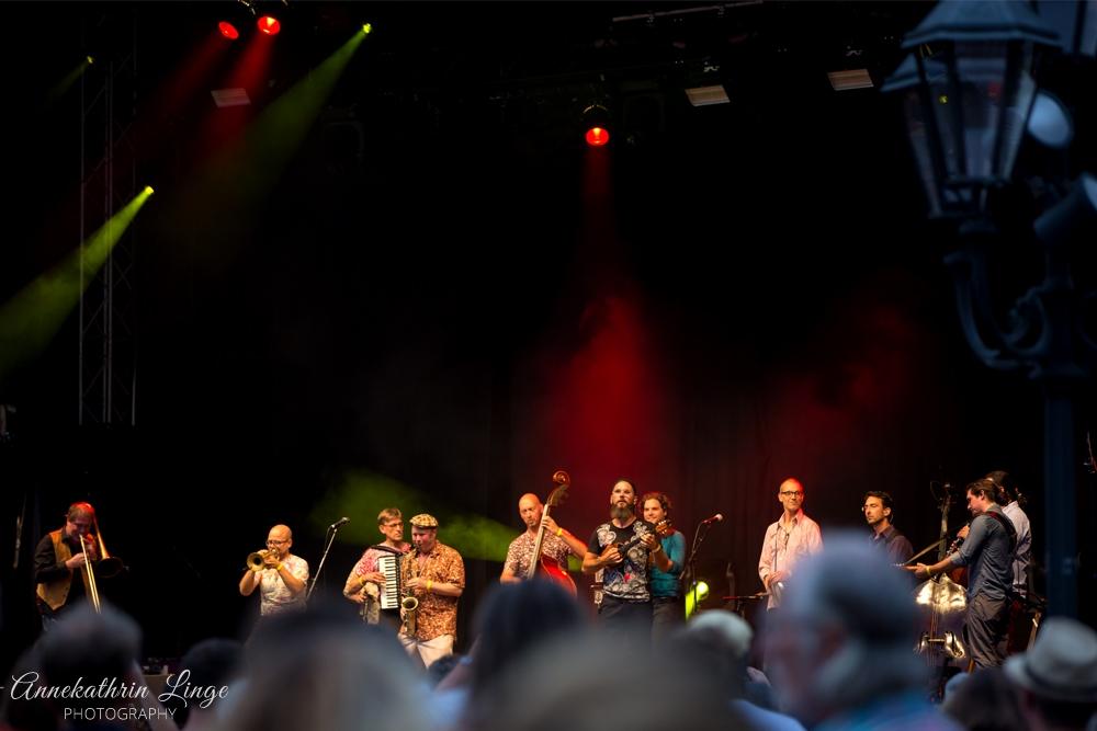 28.07.2018: Bardentreffen in Nürnberg: Amsterdam Klezmer Band