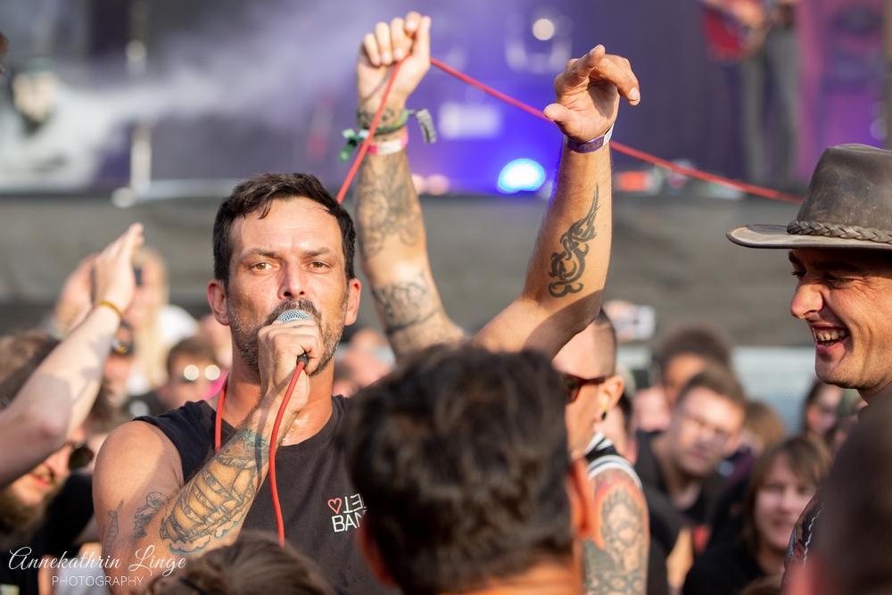 07.08.2019: Alex Mofa Gang auf dem Open Flair-Festival in Eschwege