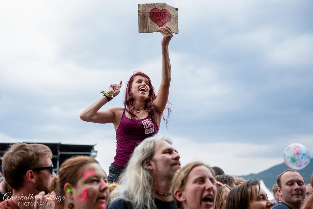 07.08.2019: Das Pack auf dem Open Flair-Festival in Eschwege