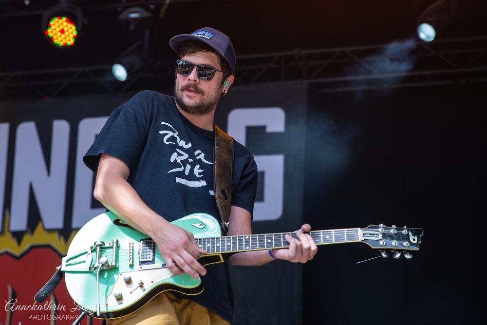 11.08.2019: Django S. auf dem Open Flair-Festival