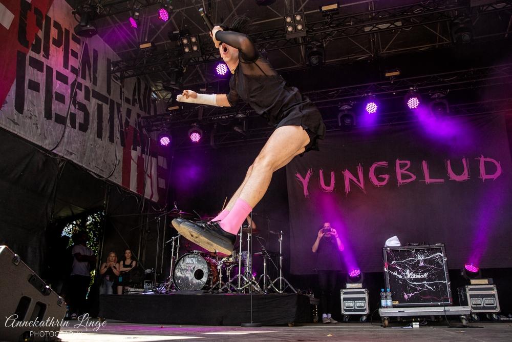 11.08.2019: Yungblud auf dem Open Flair-Festival