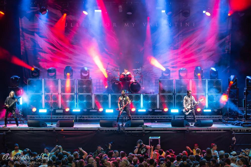 11.08.2019: Bullet For My Valentine auf dem Open Flair-Festival