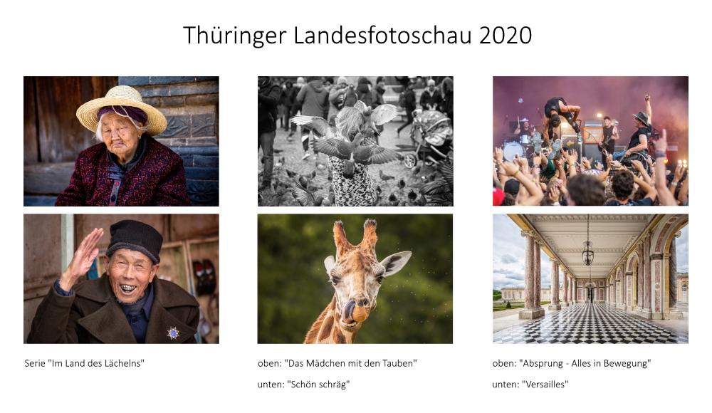 meine Beiträge zur Landesfotoschau Thüringen 2020