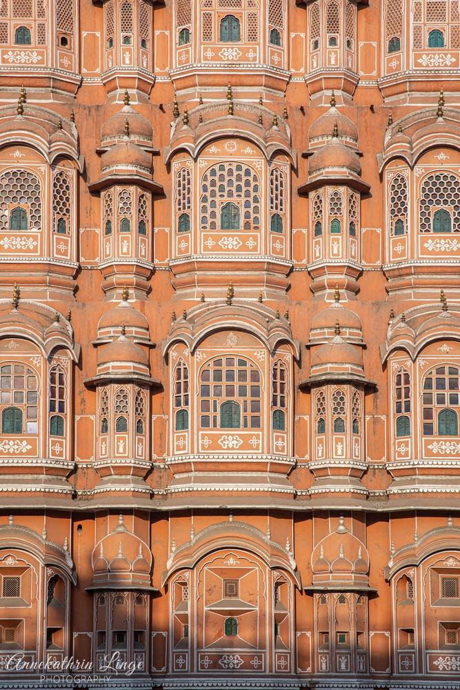 Jaipur: Hawa Mahal (Palast der Winde)